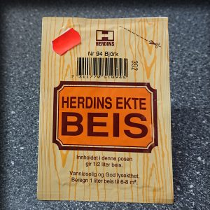 Herdins ekte beis - Bjørk