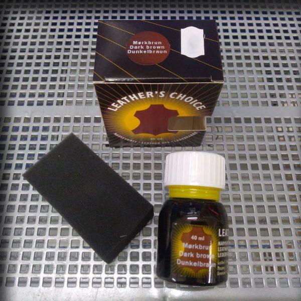 Leather's Choice 40ml Mørkbrun