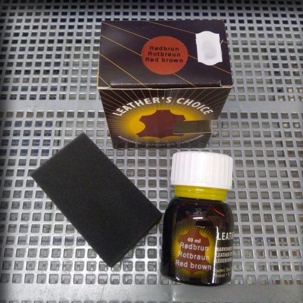 Leather's Choice 40ml Rødbrun