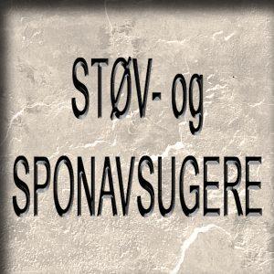 STØV- og SPONAVSUGERE