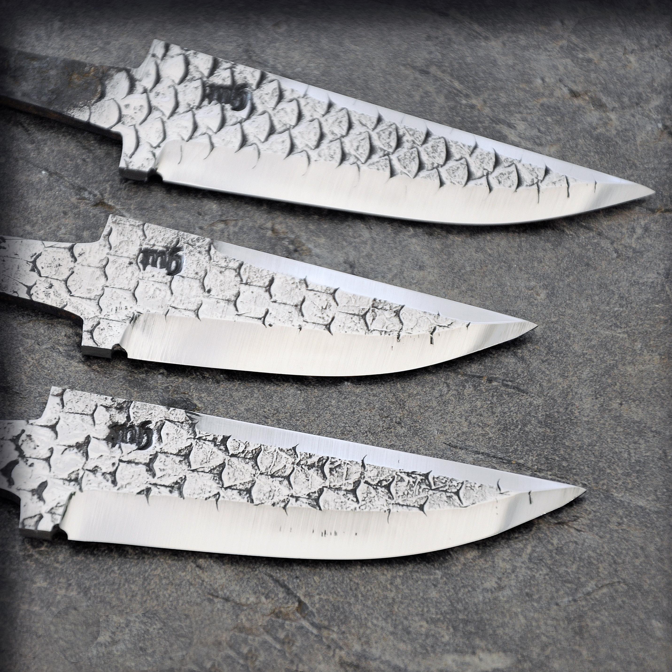 Knivblad av hovrasp